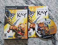 Legend of Kay (Sony PlayStation 2, 2005) Complete CIB FREE FAST SHIPPING