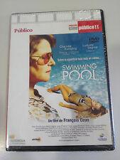 SWIMMING POOL DVD SLIM FRANCOIS OZON CHARLOTTE RAMPLING ESPAÑOL ENGLISH NUEVA