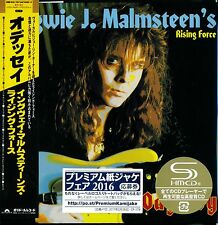 YNGWIE MALMSTEEN ODYSSEY JAPAN 2016 NEWLY RMST SHM MLPS CD - JOE LYNN TURNER!