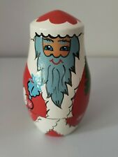 Santa Claus 4 Piece Russian Matryoshka Nesting Dolls