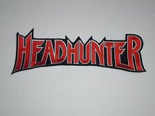 HEADHUNTER EMBROIDERED BACK PATCH