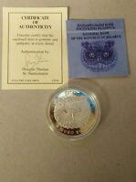 Belarus 2010 Proof Silver Eagle Owl - Bubo Bubo COA 20 Rubles