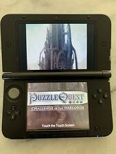 Nintendo 3DS XL Blue/Black Handheld System with SD card & charger