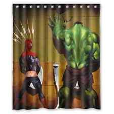 Customize Hulk Hero Polyester Bathroom Shower Curtain Funny Home Decor 60x72 IN