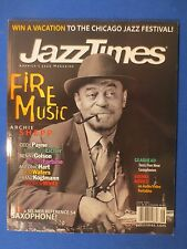JAZZ TIMES MAGAZINE JUNE 2001 ARCHIE SHEPP CECIL PAYNE ANTONIO HART KIM WATERS