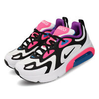 Nike Air Max 200 GS White Black Hyper Pink Kid Women Running Shoes AT5630-100