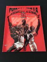 Chicago Bulls 1995 1996 Official Yearbook NBA Michael Jordan Scottie Pippen