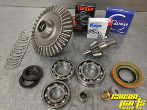 Differential Rebuild Kit Canam G1 G2 Rear DIFF Ring Pinon Bearing Seal READ 1447