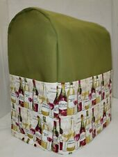 Olive Green Canvas Wine Bottles Cover Compatible w/Farberware 4.7qt Stand Mixer