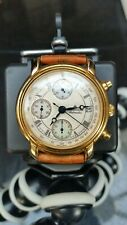 MENS MAURICE LACROIX CRONEO 03274 GOLD PLATED WATCH AUTOMATIC  38.5mm