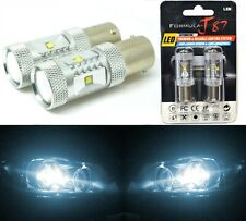 LED Light 30W PY21W White 6000K Two Bulbs Rear Turn Signal Replace Upgrade Lamp