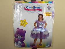 Care Bears Share Bear Deluxe Halloween Costume Purple Girl Toddler Size 2T *NEW*