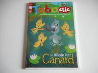 JEU CD-ROM MAC PC -  TOBOCLIC N° 147 AVRIL 2015 LE VILAIN PETIT CANARD