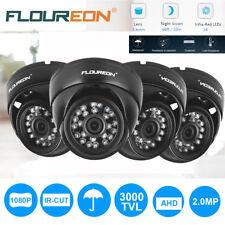 FLOUREON Outdoor 2000TVL/3000TVL 1080P CCTV DVR Security AHD Dome IR LED Camera