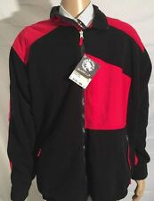 Mammut Garantie Swiss Black Red Alpine Jacket Fleece Extra Large Climbing New