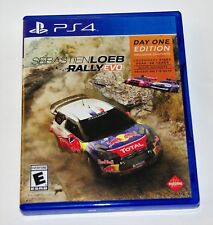Replacement Case (NO GAME) Sebastienloeb Rally Evo PlayStation 4 PS4 Box