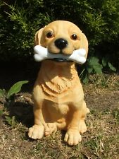 LATEX MOULD/MOULDS/MOLDS.        LARGE LABRADOR DOG WITH A BONE