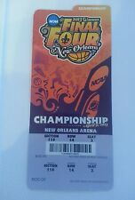2013 NCAA WOWENS FINAL FOUR CHAMPIONSHIP GAME TICKET APRIL 9 NEW ORLEANS U CONN