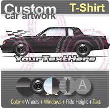 Custom T-shirt 1985 86 1987 87 Buick Regal t-type GNX Grand National WE4 Turbo