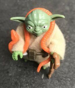 Vintage Star Wars Figure - Yoda (Orange Snake) - Complete (1980)
