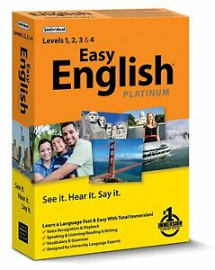 Learn to Speak English ---EASY ENGLISH Platinum PC Software ----- new