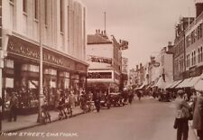 """WOOLWORTHS, HIGH STREET, CHATHAM, KENT 7X5"""" REPRODUCED PRINT"""