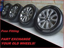 "2385 Genuine 20"" 502 Land Range Rover Sport Vogue Alloy Wheels & Gripmax Tyres"