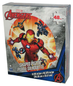 Marvel The Avengers Iron Man 48pc Spin Master Cardinal (2021) Shaped Silhouette