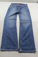 "J1290 Levi´s ""Eve"" Square Cut, Straight 557 0631 Jeans W28 L32 Blau  Sehr gut"