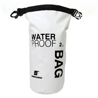2L Sports Waterproof Dry Bag Sack Pouch Swim Floating Boating Kayaking Camping