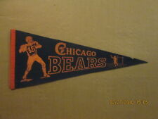 NFL Chicago Bears Vintage Circa 1950's #15 Quarterback Logo Football Pennant