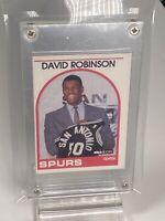 1989-1990 Hoops David Robinson Rookie Card RC, Spurs #138 Basketball Card