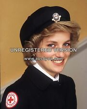 "Princess Diana 10"" x 8"" Photograph no 6"