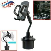 Adjustable Universal Car Mount Holder Gooseneck Cup Cradle for Cell Phone iPhone