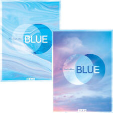B.A.P BLUE 7th Single Album 2Ver SET 2CD+POSTER+2ea Photobook+2p Card SEALED BAP
