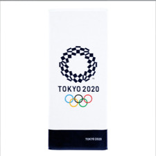 Tokyo 2020 Olympic Games Olympic Official Emblem Face Towel Made In Japan