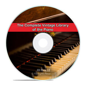 101 Classic Books on the Piano, Music, How to Play, Pianist Pianoforte DVD I03