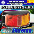 NARVA 91602 LED SIDE MARKER RED AMBER TRAILER CLEARANCE LIGHT LAMP 12V 24V