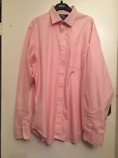 SIZE 17 POLO BY RALPH LAUREN PALE PINK PHILIP SHIRT SUMMER HOLIDAY RRP £150