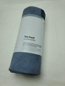 Lululemon The Towel La Serviette NWT One Size Hot Yoga Mat Towel BLUE