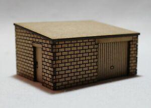 OO Gauge Model Railway MDF Laser Cut Garage Outbuilding Workshop