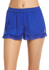 Free People Womens High Side OB814835 Shorts Vibrant Cobalt Blue Size XS