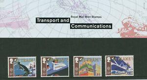 TRANSPORT & COMMUNICATIONS 1988 -  PRESENTATION STAMP PACK - MINT (PB)