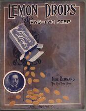 Lemon Drops A Rag 1910 Sheet Music