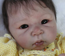 "Lulu By Adrie Stoete New Reborn Baby Doll Kit @ 20""@ Vinyl Parts Only"