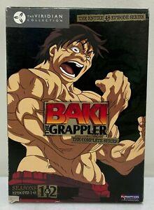 Baki the Grappler - The Complete Series 7-Disc DVD Box Set - Rare Anime