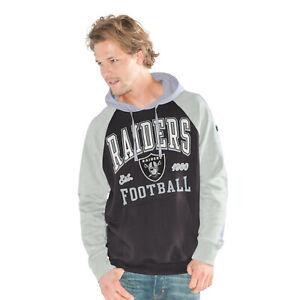 G-III Sports Las Vegas Raiders Men's The Closer Pullover Hoody Sweatshirt