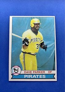 1979 Topps Dave Parker #430 Baseball Card Set Break Reds Pirates