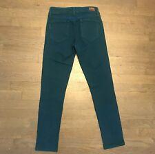 Paige Premium Denim Skyline Ankle Peg Stretch Jeans Green Woman��s 24