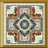 10% Off Chatelaine Counted X-stitch Chart - Mini Mandala Mystery 03 - 2008